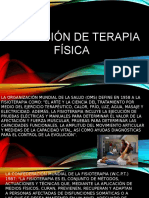 Introduccion a La Terapia Fisica y T.O