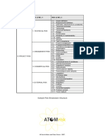 Sample Risk Breakdown Structure
