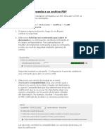 Agregar Una Contraseña a Un Archivo PDF