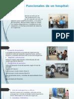 Áreas Funcionales de Un Hospital