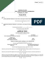 Apple Inc Report