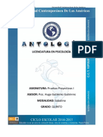Antologia Test Proyectivos