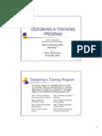 Designing_a_Training_Program H R M 2