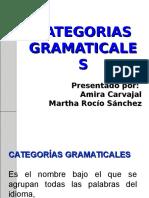 CATEGORIA GRAMATICALES