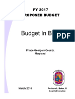 FY 2017 proposed budget