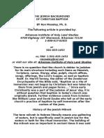 The Jewish Background