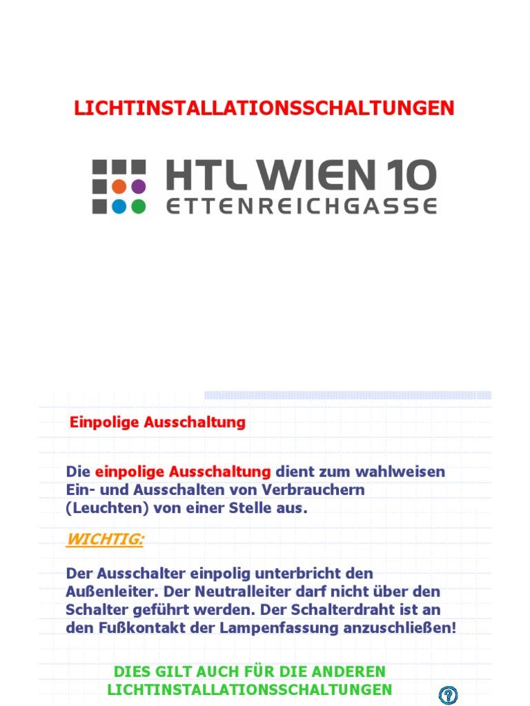 Wunderbar Wohin Geht Der Neutralleiter Ideen - Elektrische ...