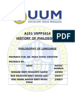 Philo. of Language. Latest