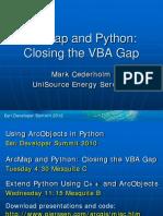 Arcmap and Python
