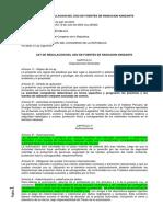 19.- Ley 28028 Radiaciones Ionizantes
