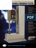 RH-150AUTO and RH-45AUTO Modular Rockwell Hardness Tester