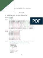 Analisis de Datos Ionizacion