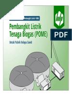 Pembangkit Listrik Tenaga Biogas