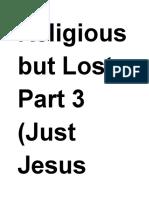 Just Jesus Evangelistic Campaign #64