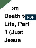 Just Jesus Evangelistic Campaign #54