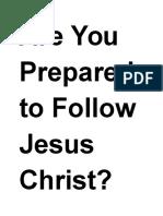 Just Jesus Evangelistic Campaign #9