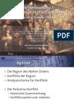 Int. Konfliktforschung II - Woche 09 - Regional-Vorlesung
