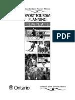 Sport Tourism Planning Template