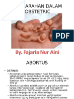 Perdarahan Dalam Obstetric(1)