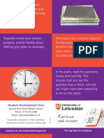 Revision and Exams - top ten tips