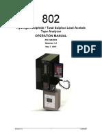 802 Manual - Rev 1.2 21 August 2007 (Single Stream)