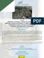 Curs sobre Modelització Dinàmica del paisatge