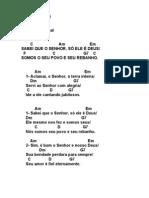 SALMO 99 (100) - SABEI QUE O SENHOR SÓ ELE É DEUS