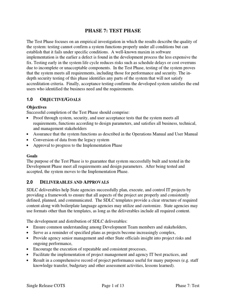 Attractive Sdlc Templates Gallery - Professional Resume Examples ...