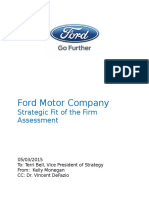 Ford_Motor_Company_Strategic_Fit_of_the.docx