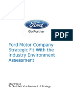Ford_Motor_Company_Strategic_Fit_With_th.docx