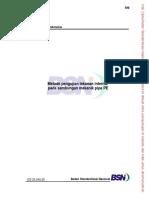 4501_metode Pengujian Tekanan Internal Pada Sambungan Pipa Pe