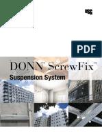 Usg Donn Screwfix Suspension System Brochure en Aus.pdf