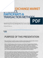 Foreign Exchange Market Dynamics, Participants and Transaction Methods