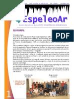 Boletín EspeleoAr N° 1