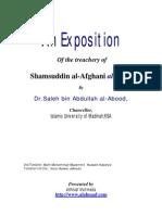 Treachery of Sham Al-Din Afghani Salafi