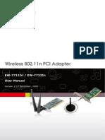 EW-7711 22In Manual