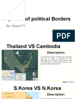 dispution of political borders