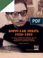 Borislav Pekic - Zivot i djelo