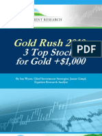 3 Top Stocks for Gold