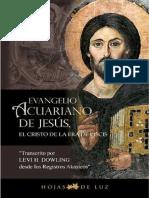 El Evangelio de Acuario de Jesus El Cristo