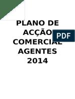 PLANO DE ACÇÃO COMERCIAL  AGENTES 2013