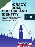 BNP Manifesto 2010 Online