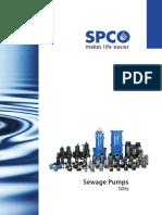 Swisspump Sewage 50hz