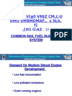 Electronic Diesel Fuel System ( Common Rail)
