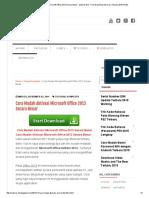 Cara Mudah Aktivasi Microsoft Office 2013 Secara Benar - Mahrus Net - Free Download Dan Cara Terbaru 2015 Gratis