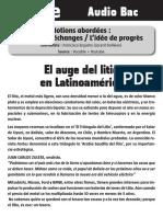 EL AUGE DEL LITIO (1)