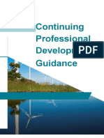 Continuing Professional Development Guidance
