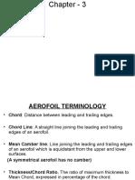 Chapter 3 Aerofoils