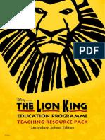 TLK Secondary Schools Resource Pack Booklet
