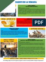 Actividades de la Escuela de Español 14 - 20 Marzo